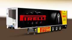 Semi-trailer refrigerator Chereau Pirelli