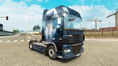 Wolf skin for DAF truck