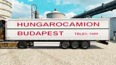 Skin Hungarocamion Budapest on semi for Euro Truck Simulator 2
