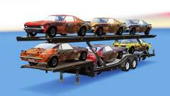 Car Transporter with cars from FlatOut