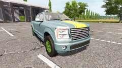Lizard Pickup TT v1.1 for Farming Simulator 2017