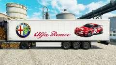Skin Alfa Romeo Sport on semi for Euro Truck Simulator 2