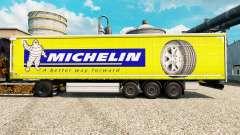 Skin Michelin Latitude on semi