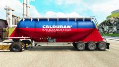 Skin Calduran cement semi-trailer for Euro Truck Simulator 2