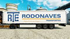 The RTE Rodonaves Transportes skin for trailers