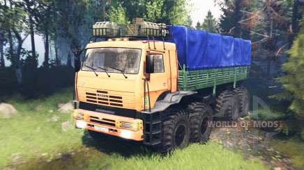 KamAZ Polar v5.0 for Spin Tires