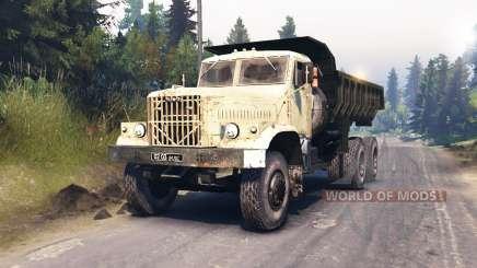 KrAZ-256 v1.1 for Spin Tires