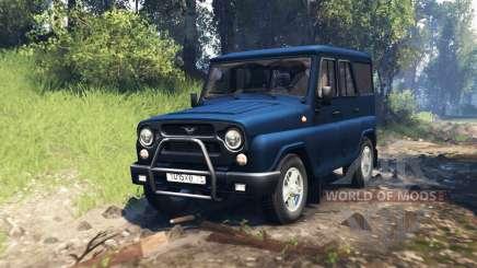 UAZ-315195 hunter v2.0 for Spin Tires