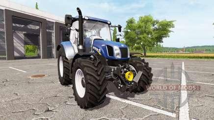 New Holland T6.160 blue power for Farming Simulator 2017