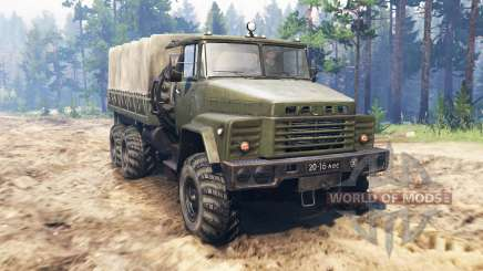 KrAZ-260 for Spin Tires