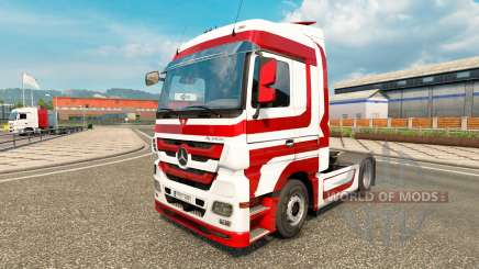 Skin Metallic for tractor Mercedes-Benz for Euro Truck Simulator 2