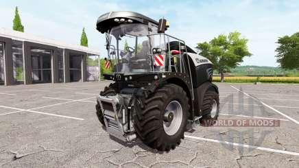 Krone BiG X 580 limited edition v1.1 for Farming Simulator 2017
