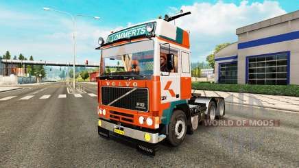 Volvo F10 Lommerts for Euro Truck Simulator 2