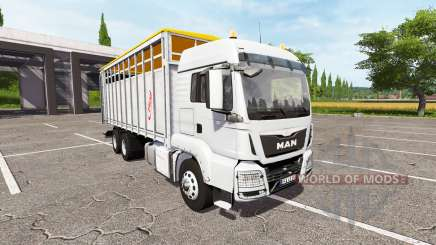 MAN TGS 18.440 animal for Farming Simulator 2017