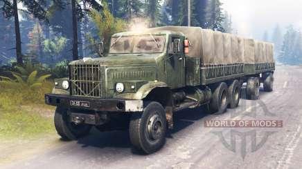 KrAZ-255 main for Spin Tires