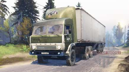 KamAZ-5410 for Spin Tires