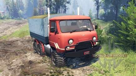 UAZ-33036 6x6 v4.0 for Spin Tires