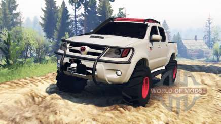 Toyota Hilux 2013 v2.0 for Spin Tires