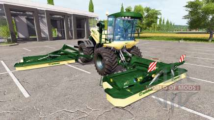 Krone BiG X 500 v1.5 for Farming Simulator 2017