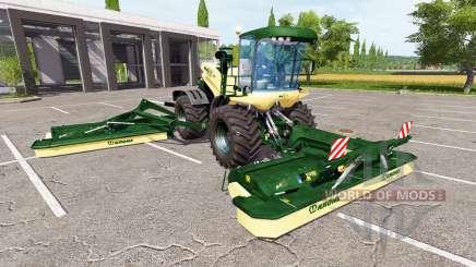 Krone BiG X 500 v1.5 for Farming Simulator 2017