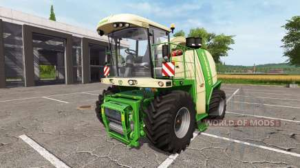 Krone BiG X 1100 bunker capacity for Farming Simulator 2017