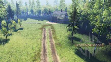 Spooky forest v2.0 for Spin Tires
