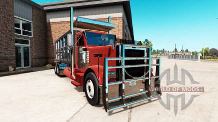 Peterbilt 379 tipper for American Truck Simulator