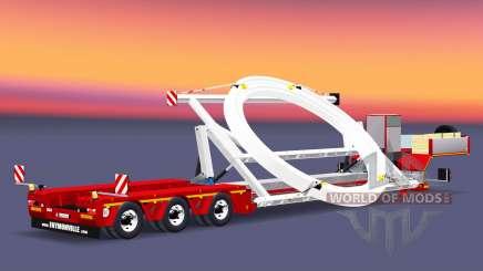Low sweep Faymonville MegaMax for Euro Truck Simulator 2