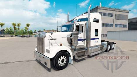Skin Cemex on the truck Kenworth W900 for American Truck Simulator