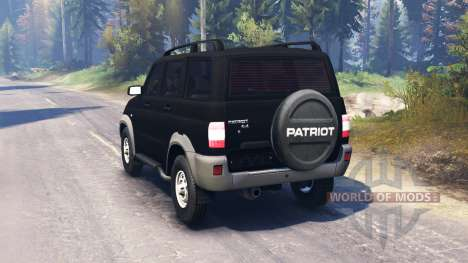UAZ-3163 Patriot v2.0 for Spin Tires