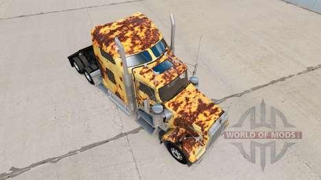 Skin Rusty on the truck Kenworth W900 for American Truck Simulator