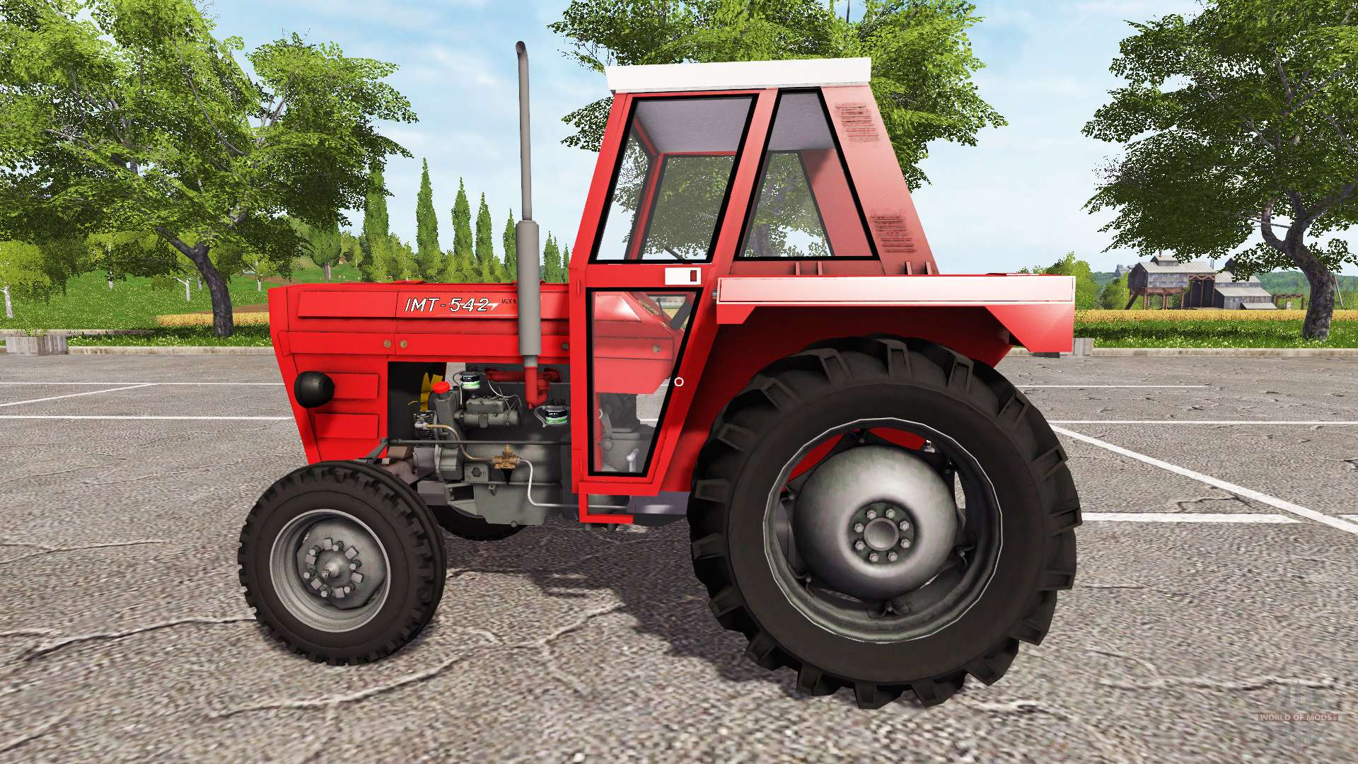 imt 542 deluxe v1 1 for farming simulator 2017 rh worldofmods com IMT 539 Deluxe Tractor IMT 539 Tractor Parts