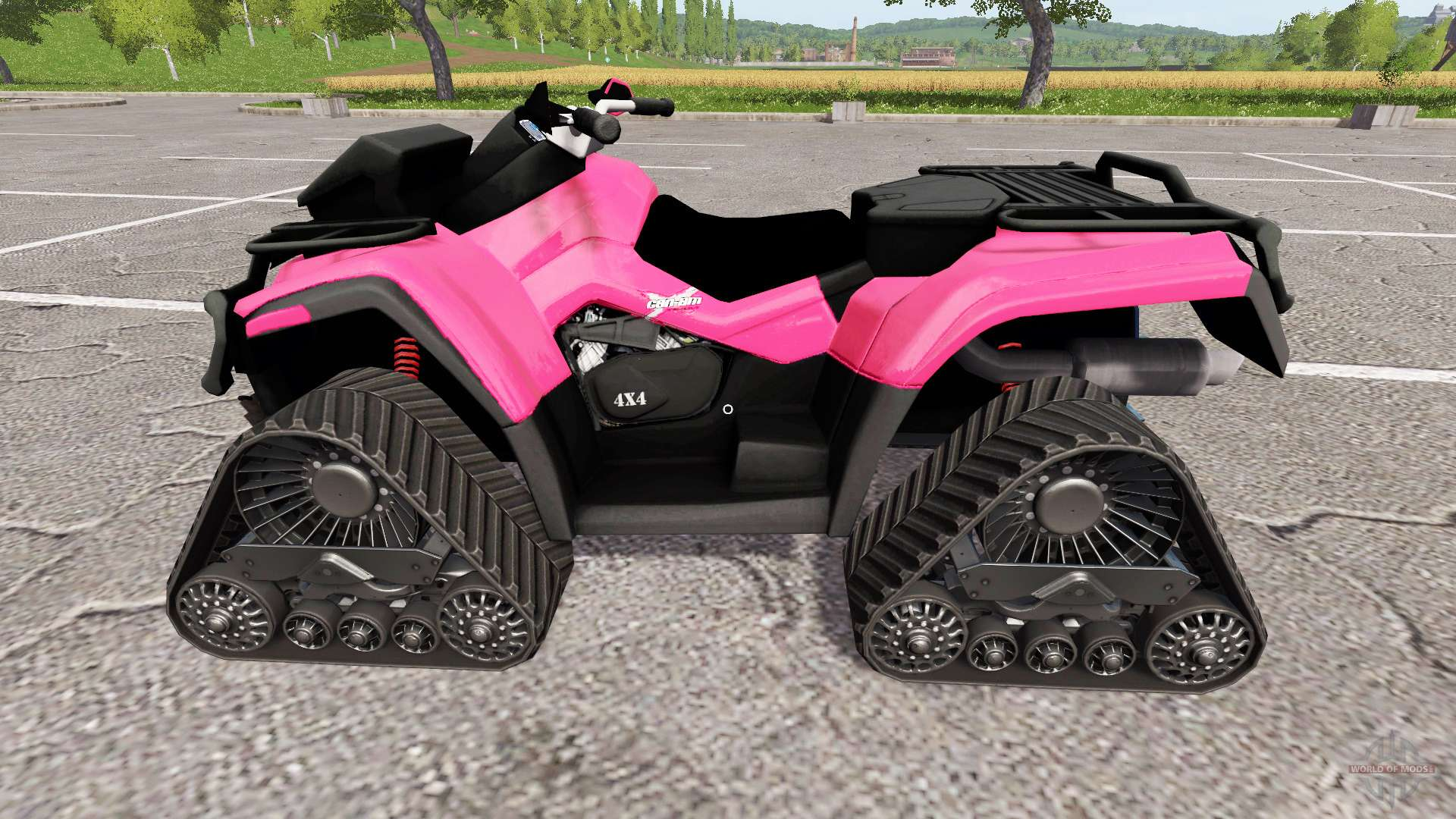 how to get an atv in farming simulator 2017