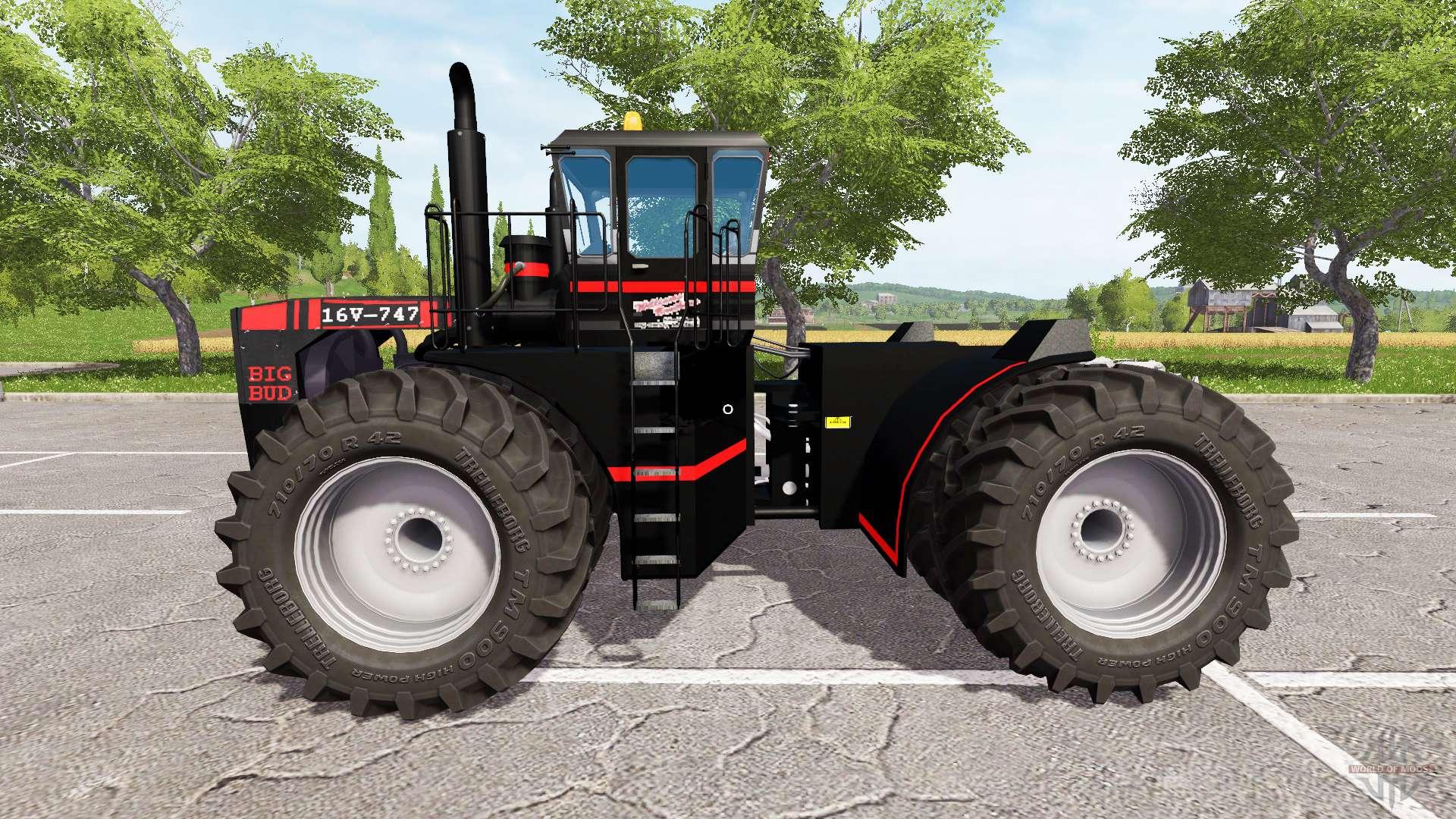 Big Bud Tractor : Big bud black for farming simulator