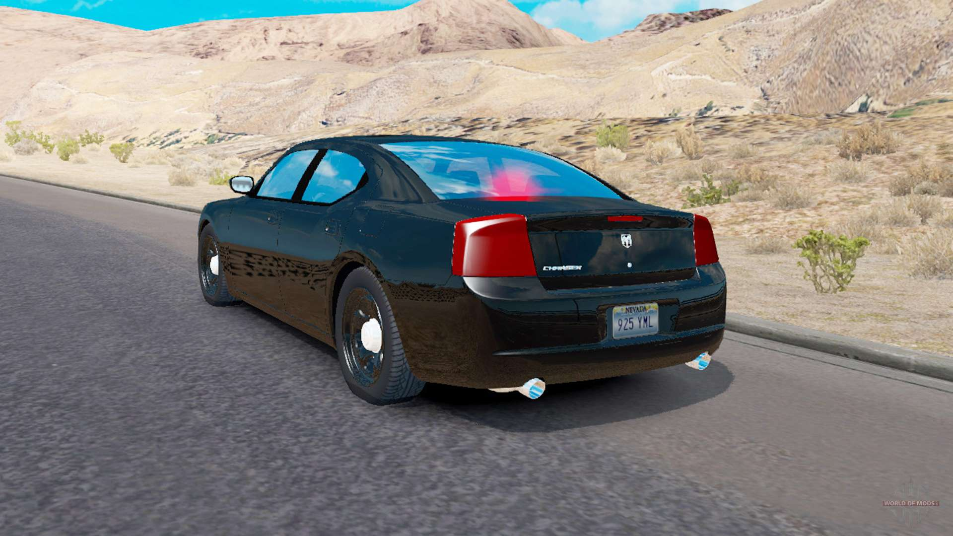 dodge charger police for traffic for american truck simulator. Black Bedroom Furniture Sets. Home Design Ideas