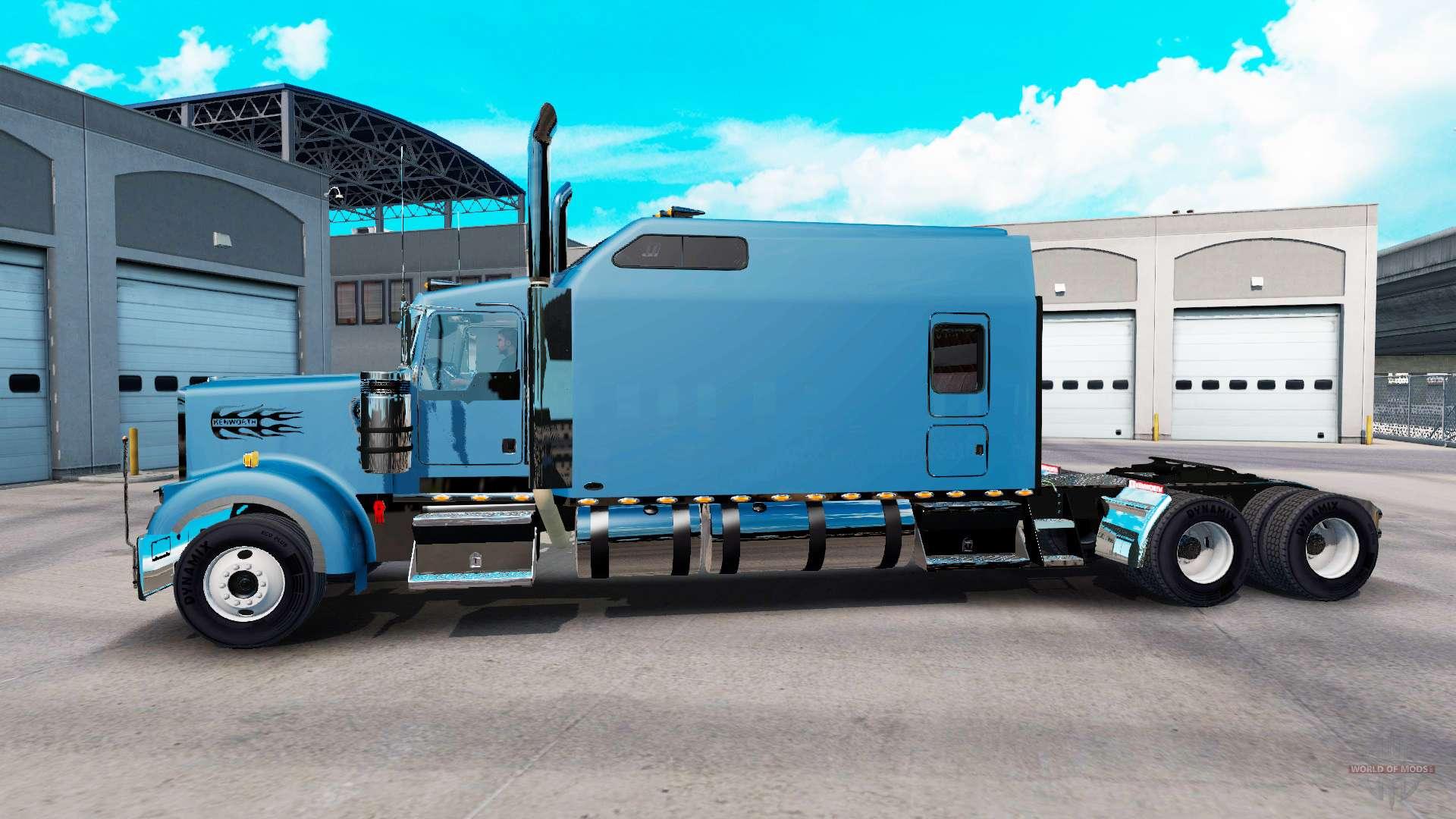 Kenworth w900b long v1 3 for american truck simulator