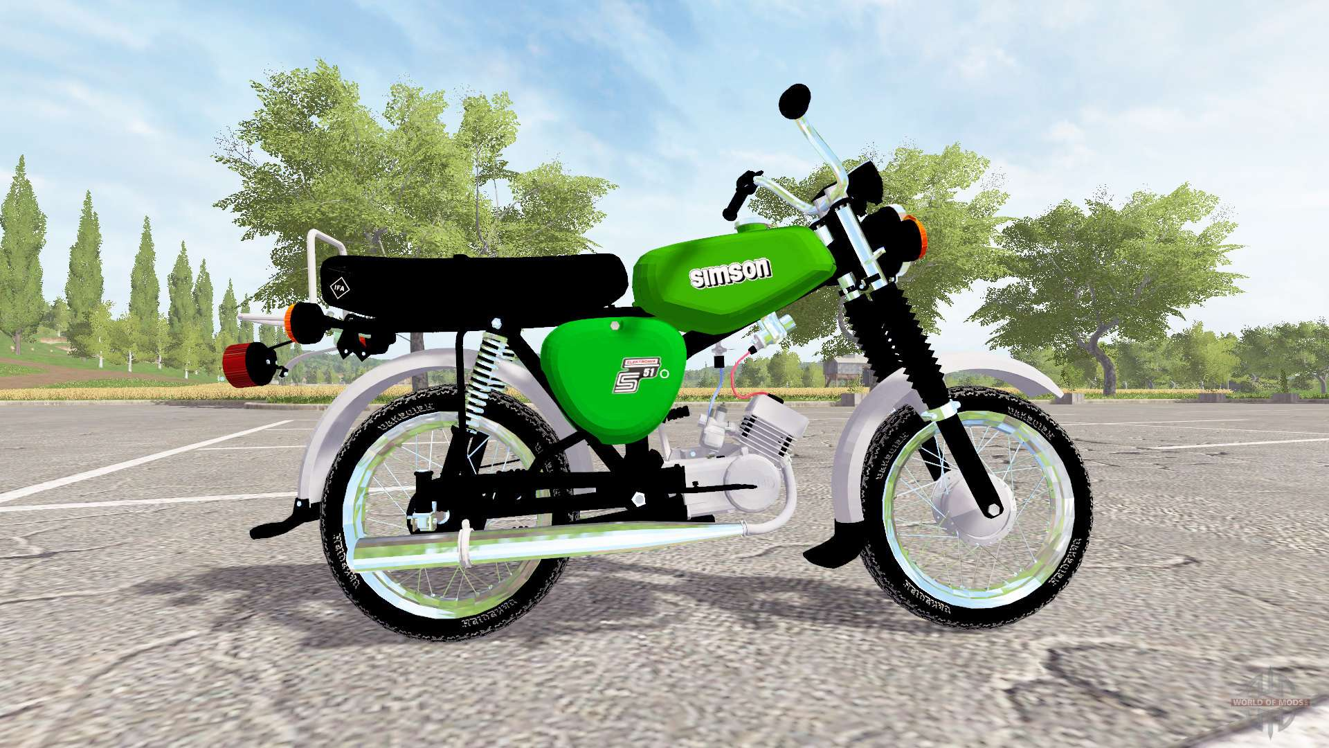 simson s51 for farming simulator 2017. Black Bedroom Furniture Sets. Home Design Ideas