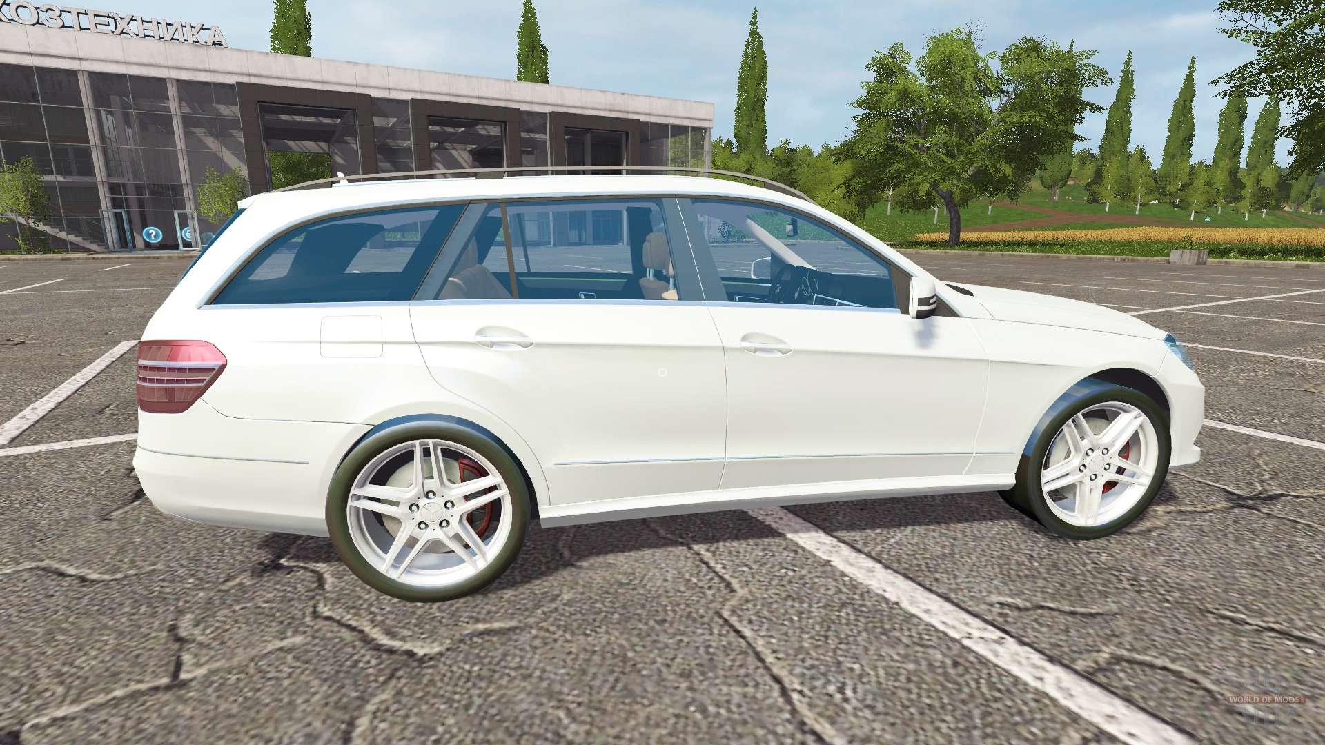 Mercedes benz e350 estate s212 for farming simulator 2017 for Mercedes benz games