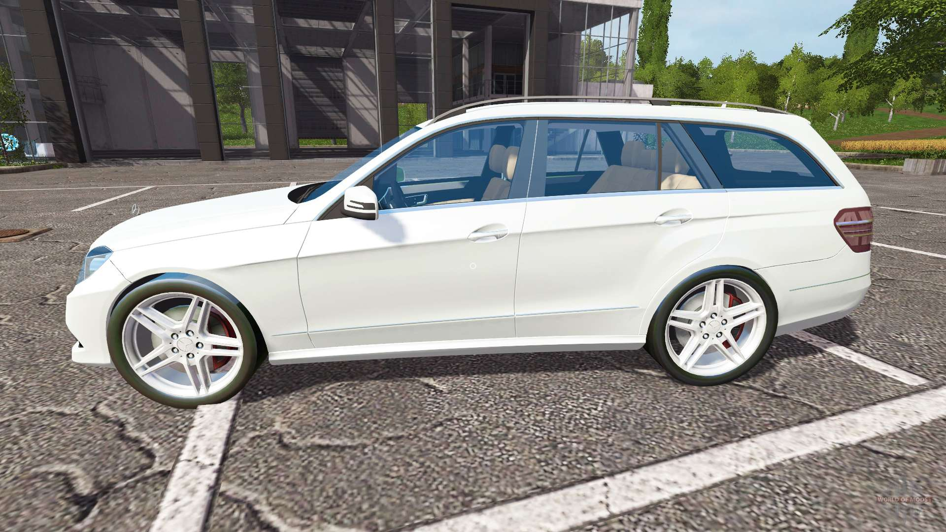 mercedes benz e350 cdi estate s212 for farming simulator 2017. Black Bedroom Furniture Sets. Home Design Ideas