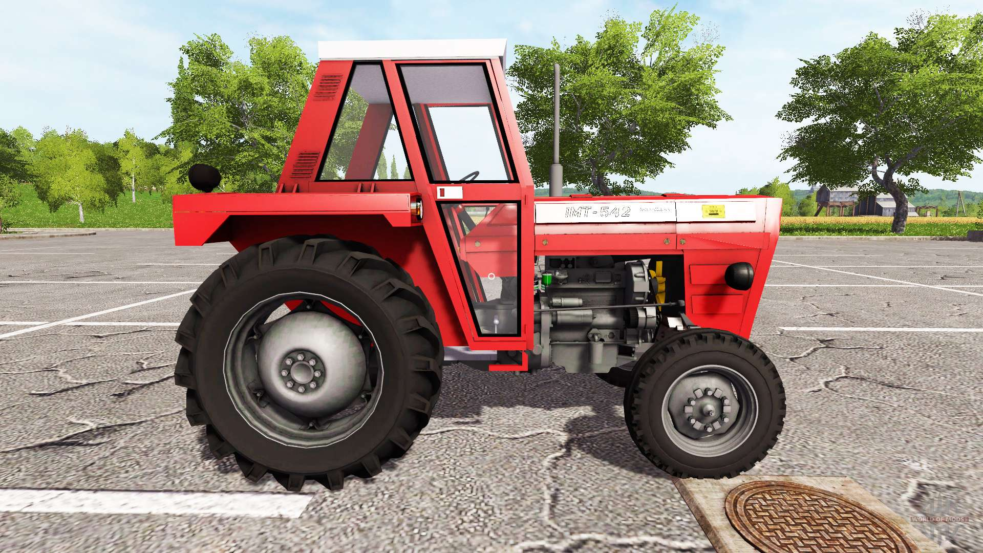 imt 542 deluxe for farming simulator 2017 rh worldofmods com IMT 539 Deluxe Tractor IMT Tractor Parts USA