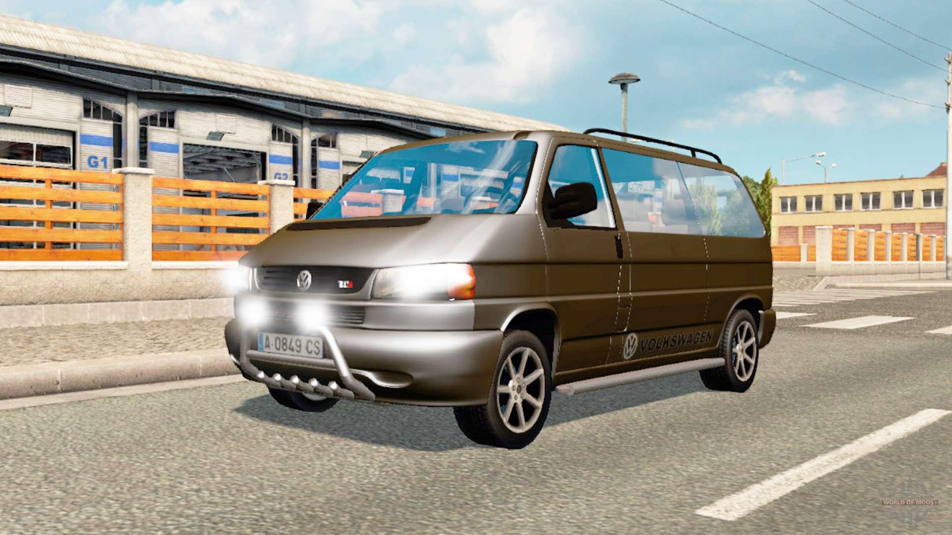 volkswagen caravelle for traffic for euro truck simulator 2. Black Bedroom Furniture Sets. Home Design Ideas