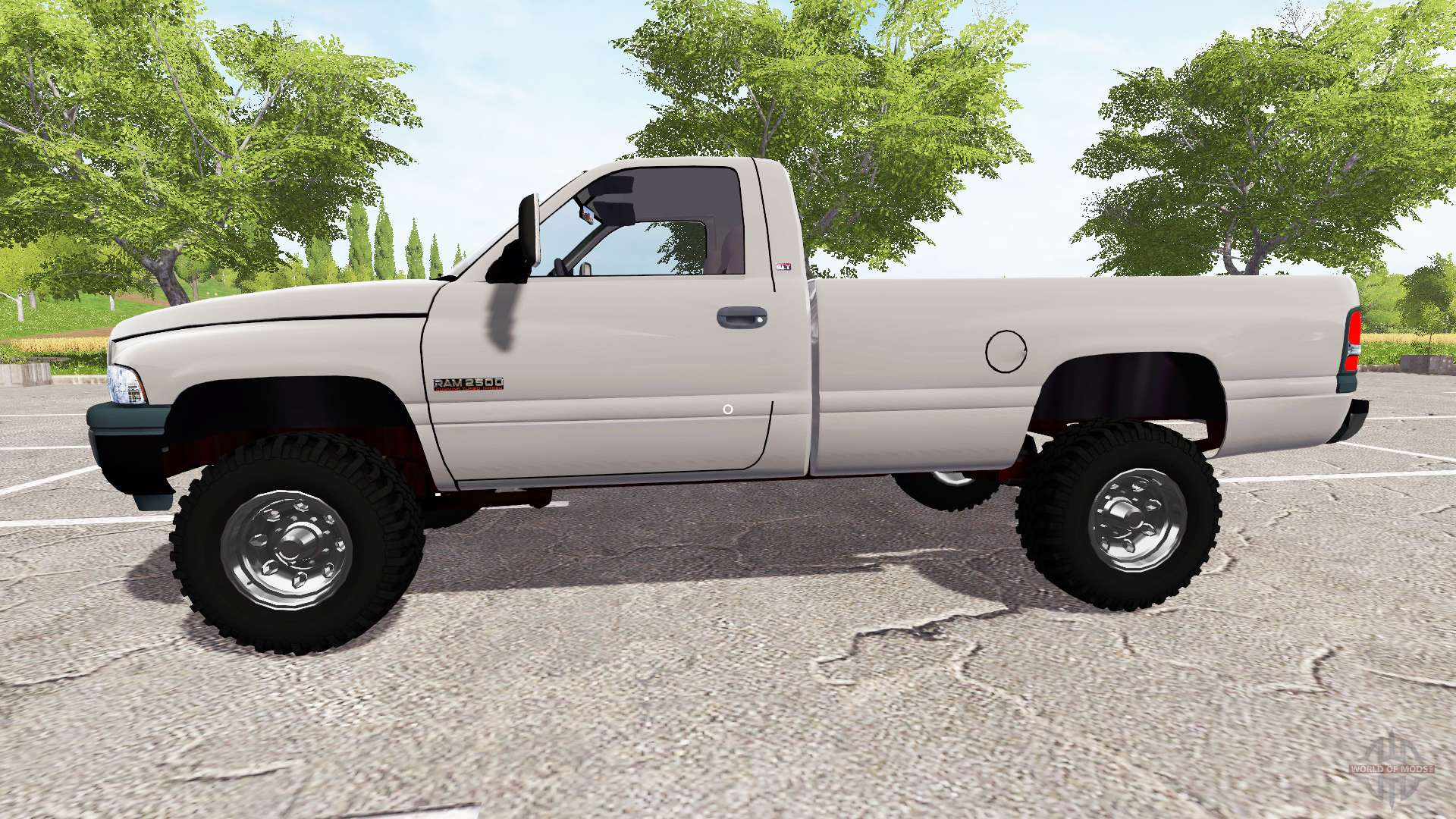 dodge ram 2500 cummins turbo diesel for farming simulator 2017. Black Bedroom Furniture Sets. Home Design Ideas
