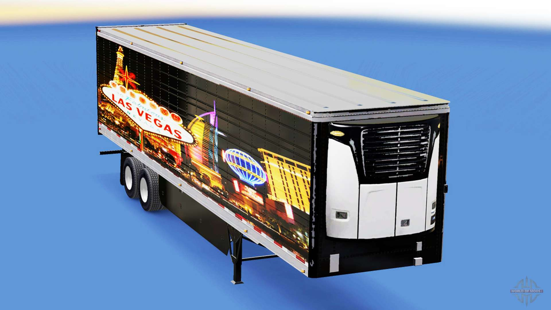 Skin las vegas for reefer semi trailer for american truck - Bac a semis ...