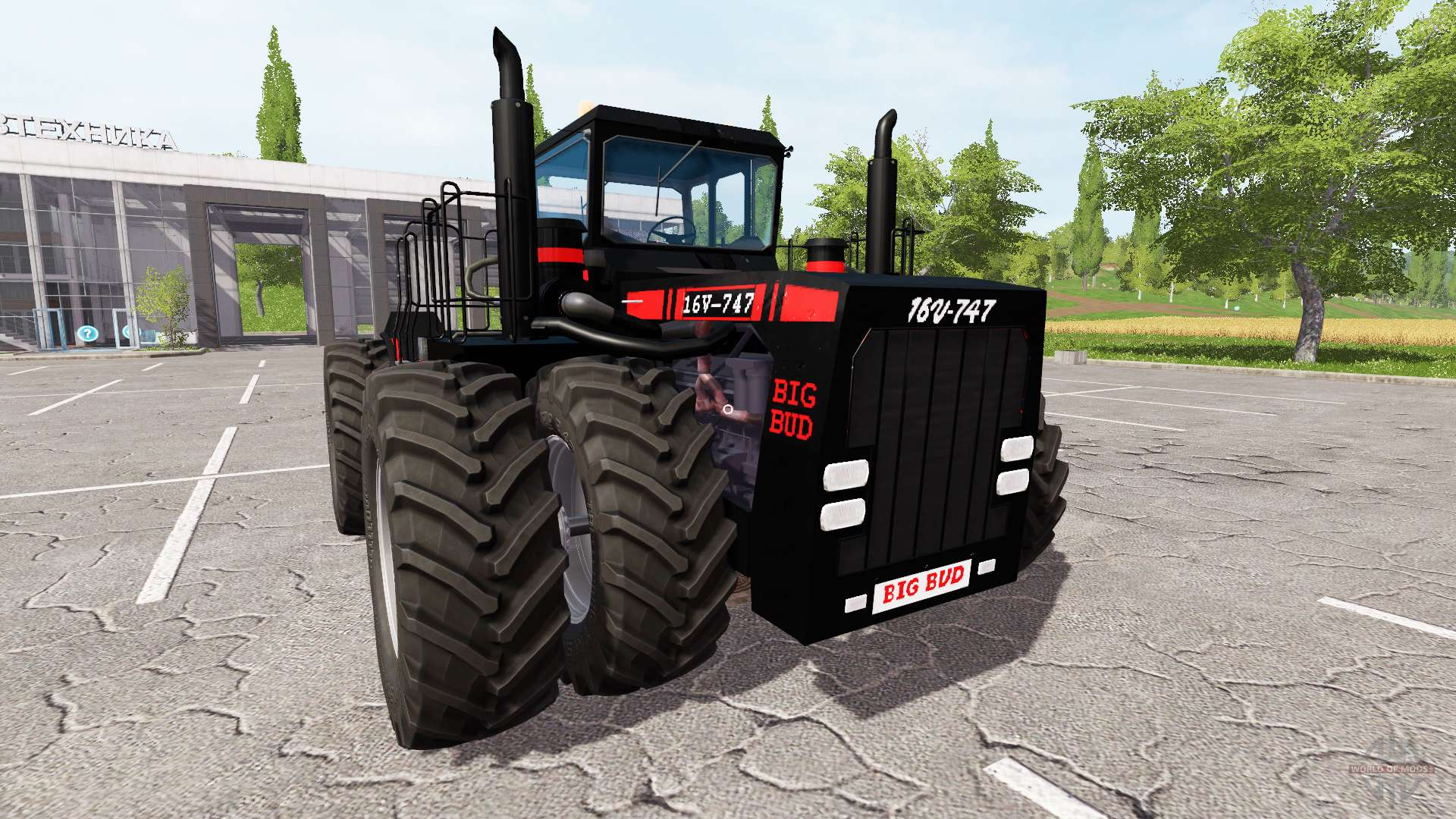 Big Bud 747 >> Big Bud-747 black for Farming Simulator 2017