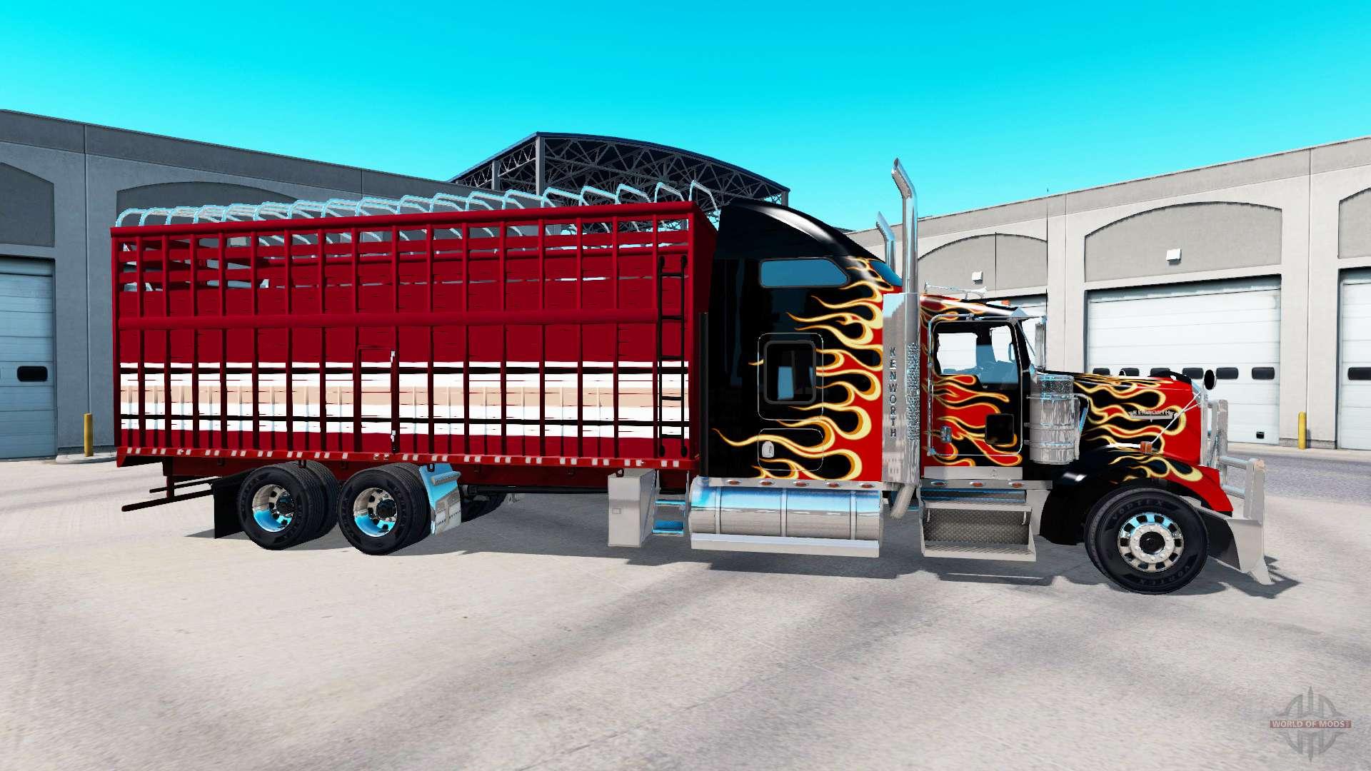 Kenworth W900 Torton For American Truck Simulator