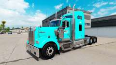 Skin at Carolina Tank Lines Kenworth W900 tracto