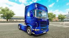 Fantastic Blue skin for Scania truck