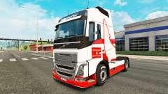 Wolfsburg skin for Volvo truck for Euro Truck Simulator 2