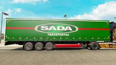 SADA Transportes skin for trailer curtain