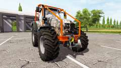 Lamborghini Mach 250 T4i VRT forest edition for Farming Simulator 2017